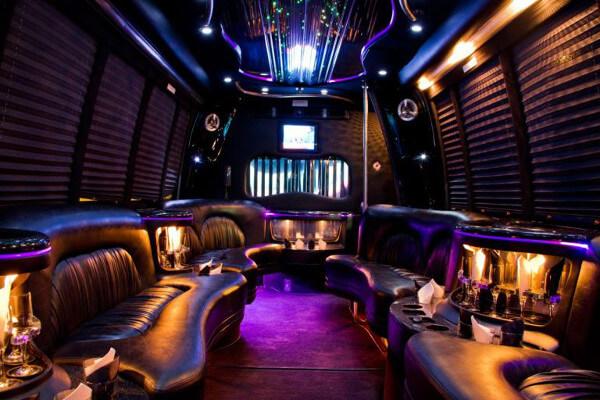 15 Person Party Bus Rental Aurora